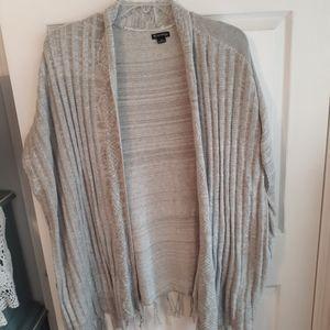 Plus size cardigan vest
